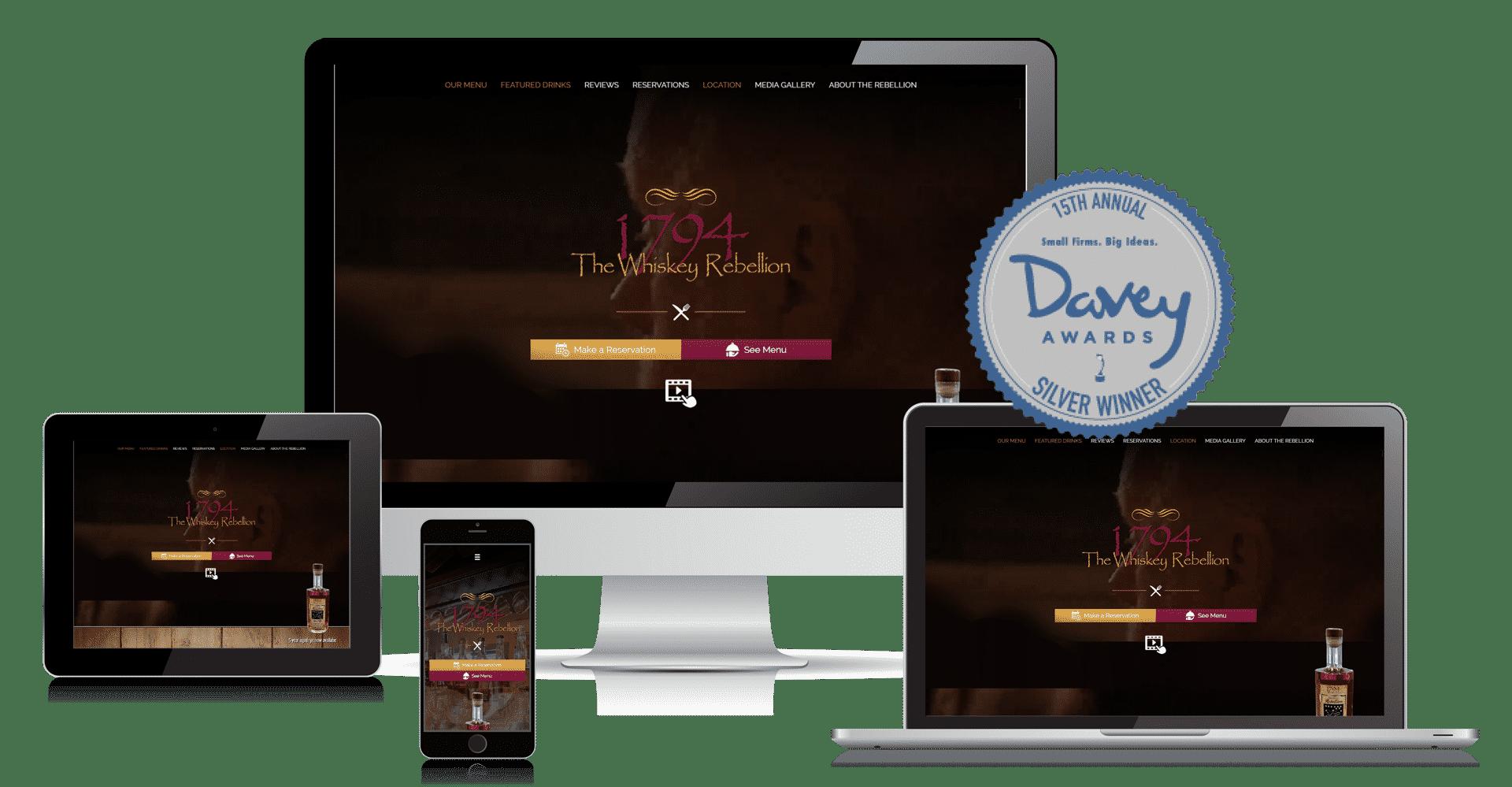 1794 The Whiskey Rebellion website