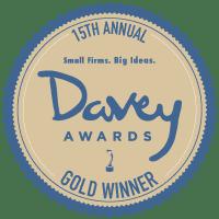 15th Annual Davey Award Gold Winner