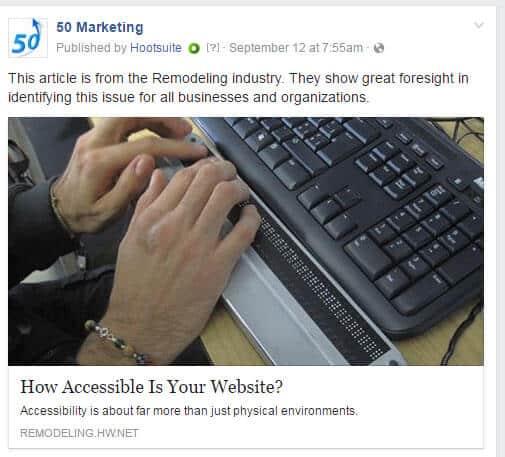 50 Marketing facebook post example