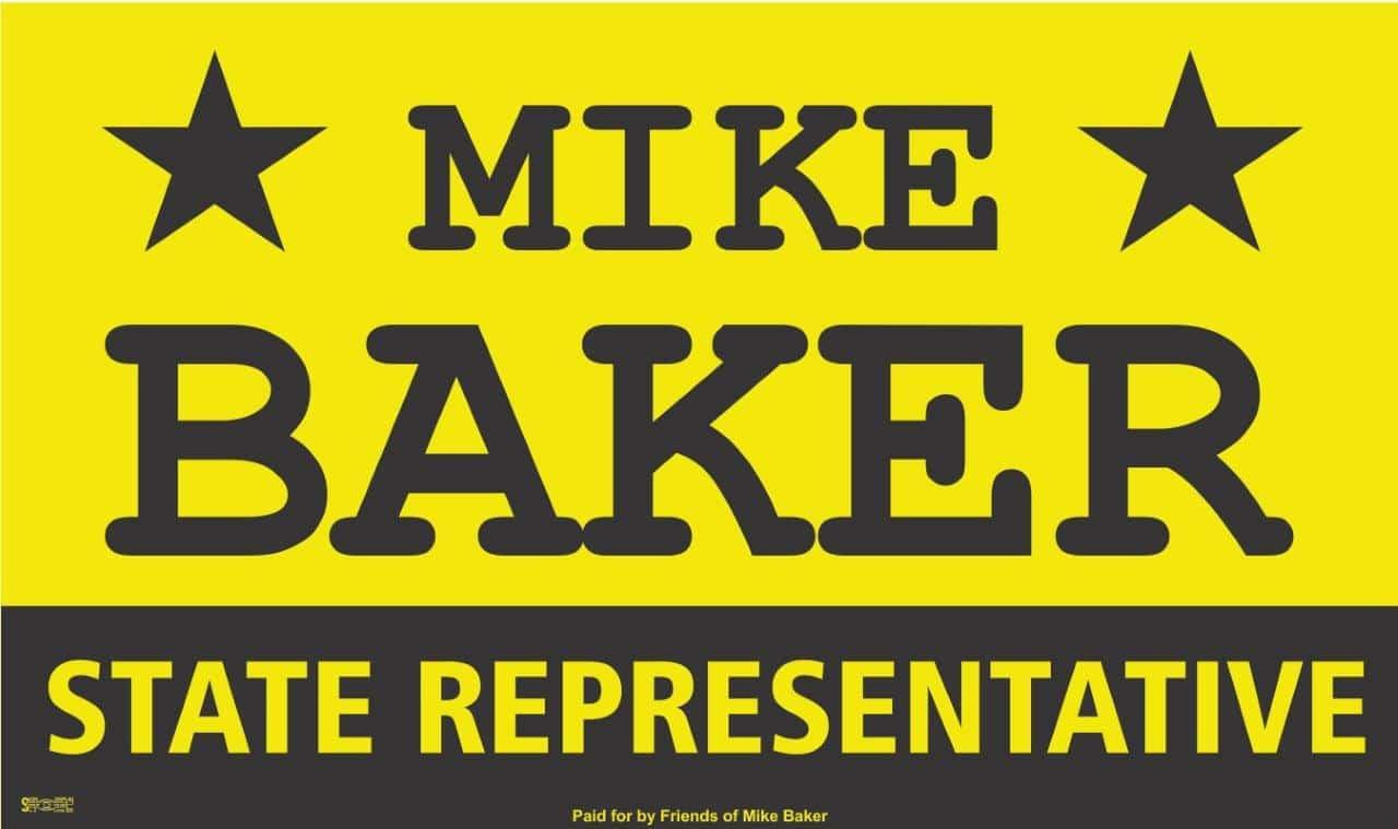 Mike Baker logo