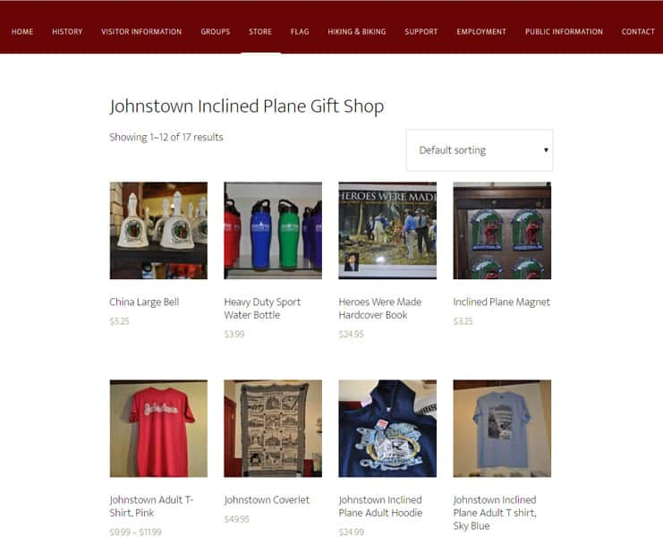 inclined plane store