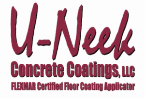 u-neek concrete flooring logo