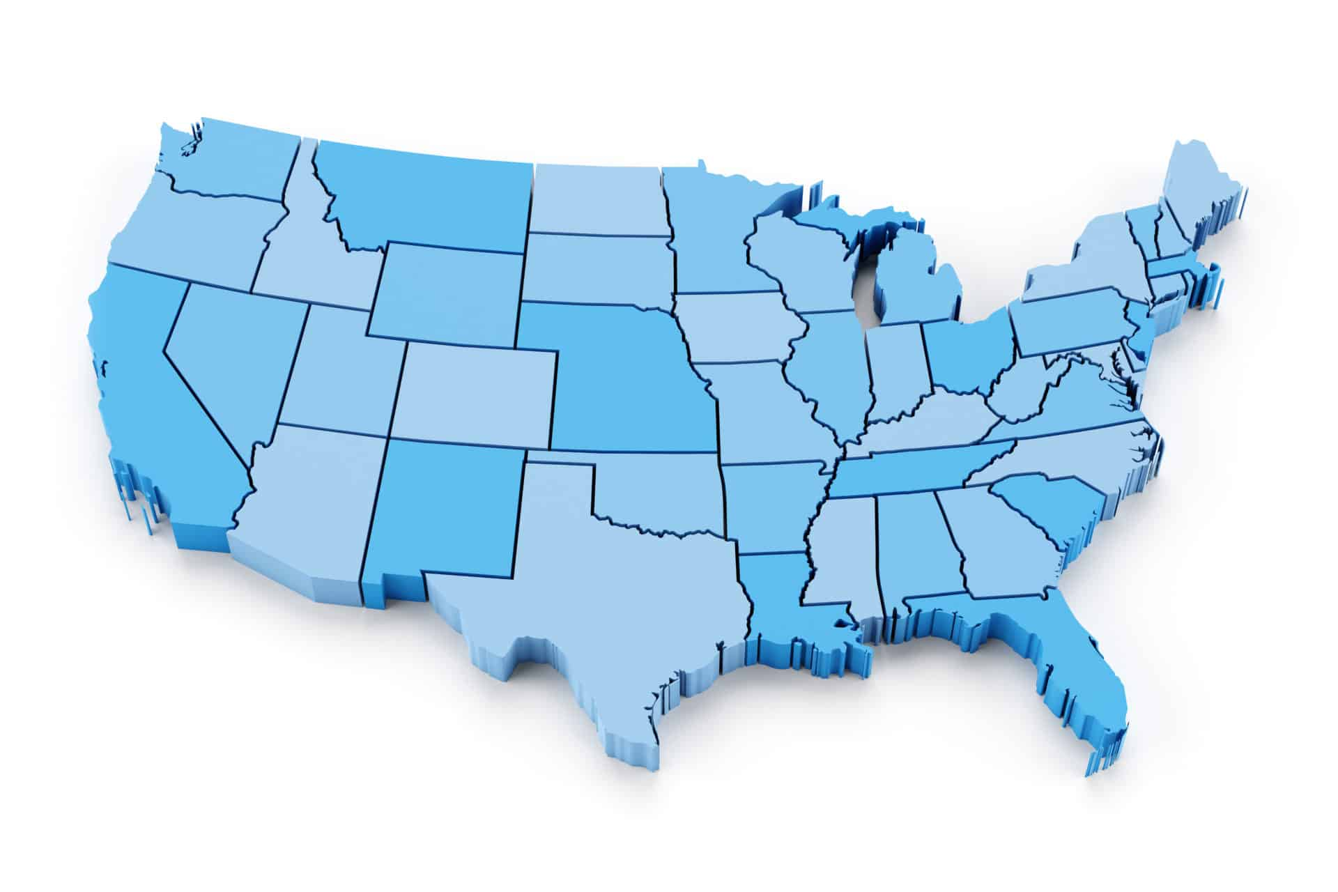 50 Marketing map of the usa