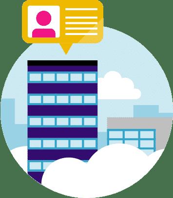 account-based marketing targeting icon
