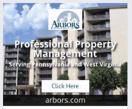 Arbors display ad example