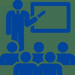 classroom training icon