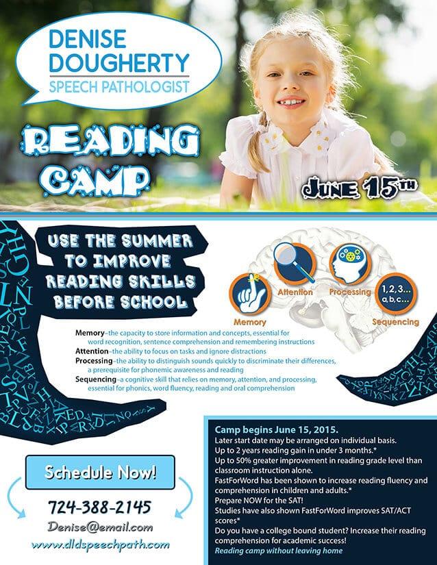 Denise Dougherty Speech Pathologist Flyer