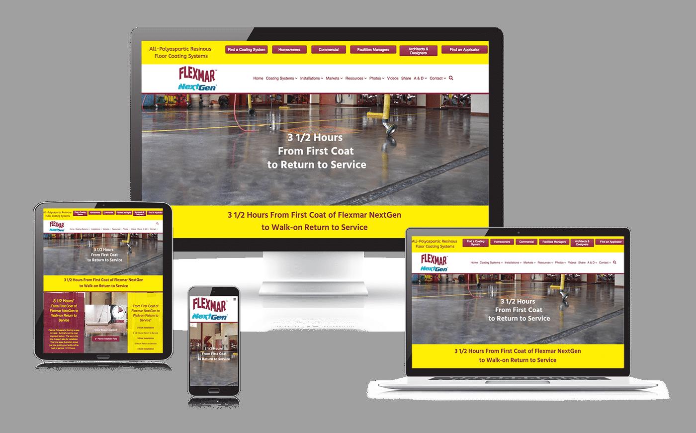 Flexmar NextGen website