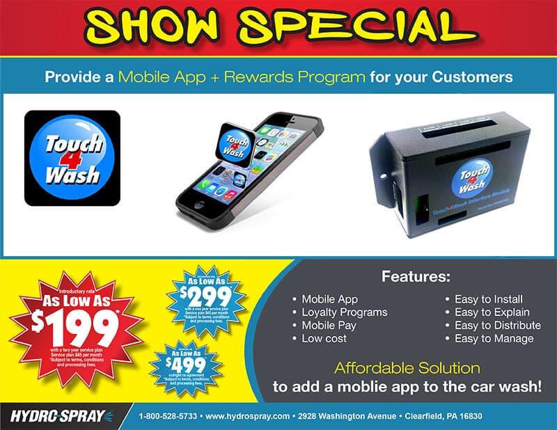 Hydro-Spray Trade Show Flyer