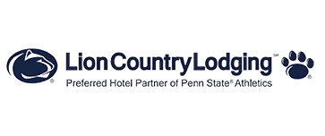 Lion Country Lodging Penn State logo