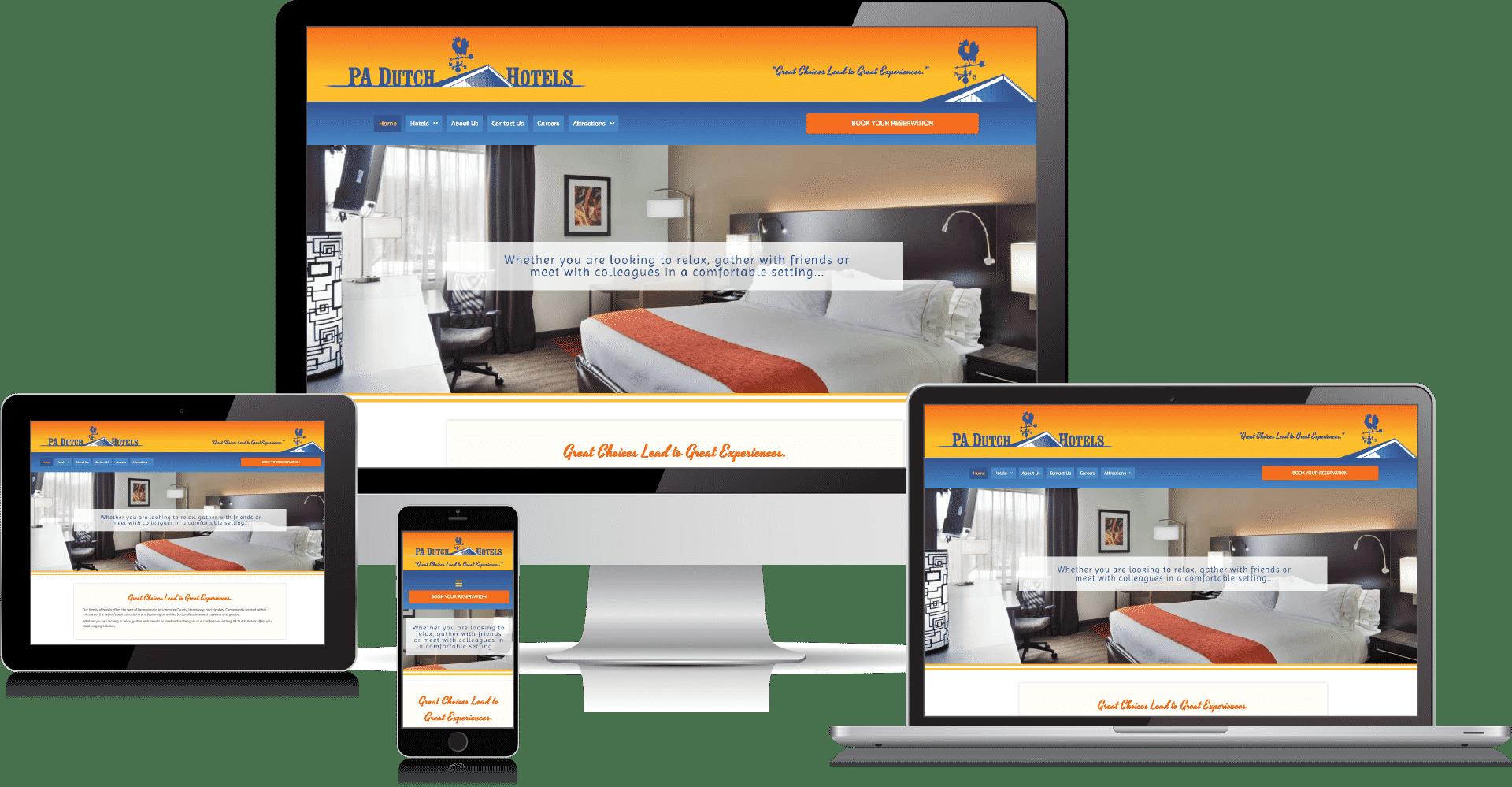 pa dutch hotels website