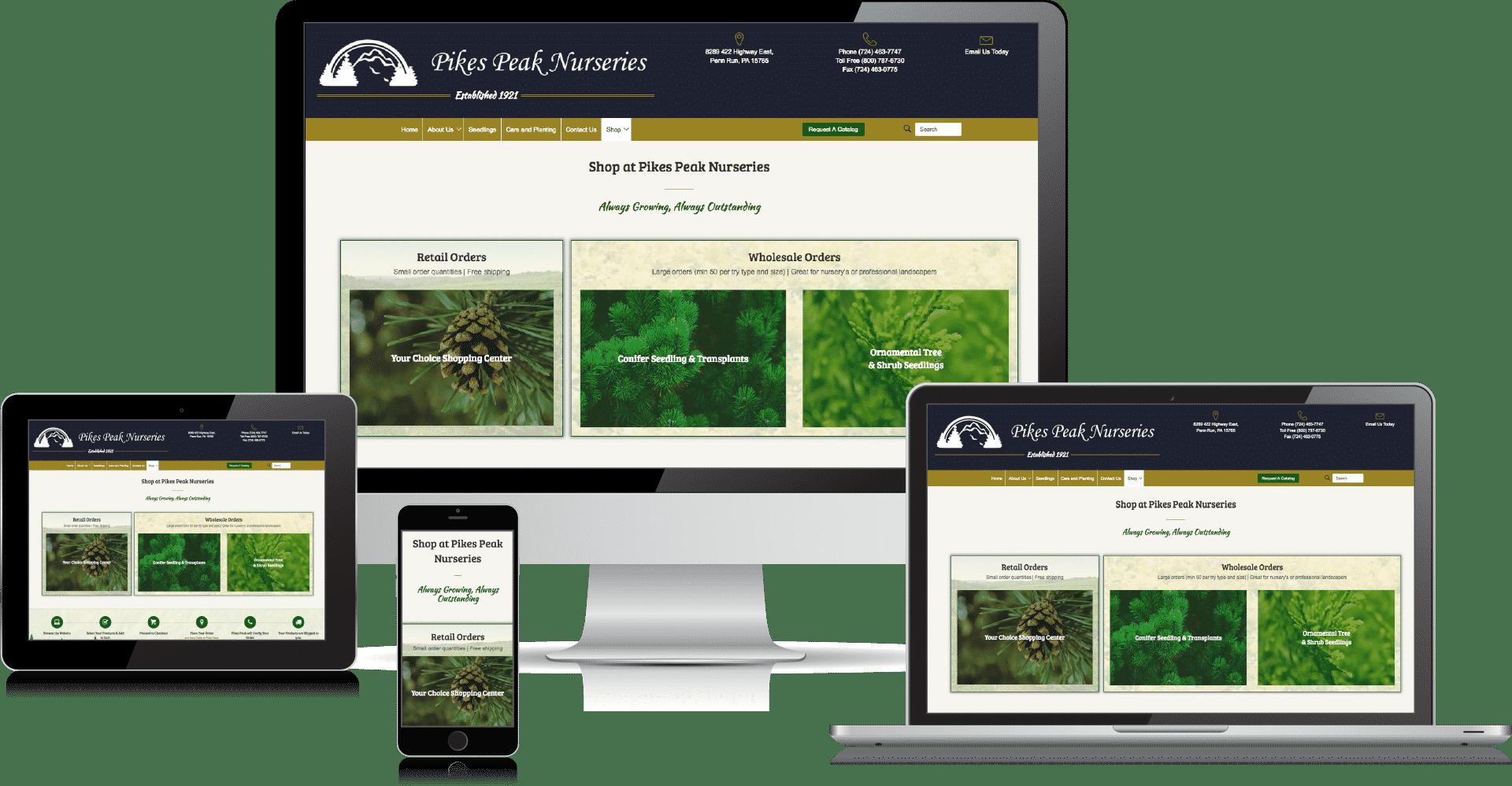 pikes peak nurseries website