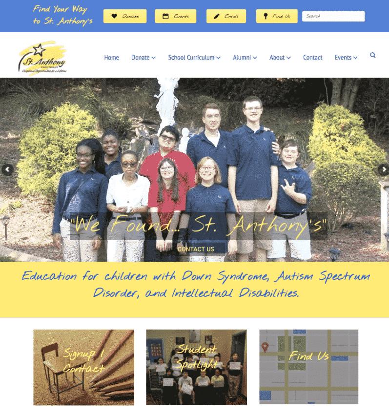 St. Anthony School Programs