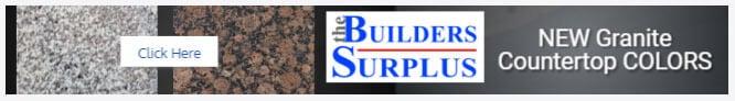 The Builders Surplus display ad example