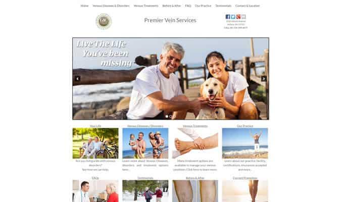 vein-doc-website-screenshot