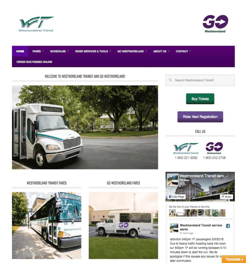 Westmoreland Transit