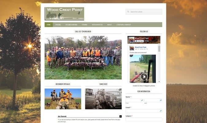 wood-crest-point-website-screenshot